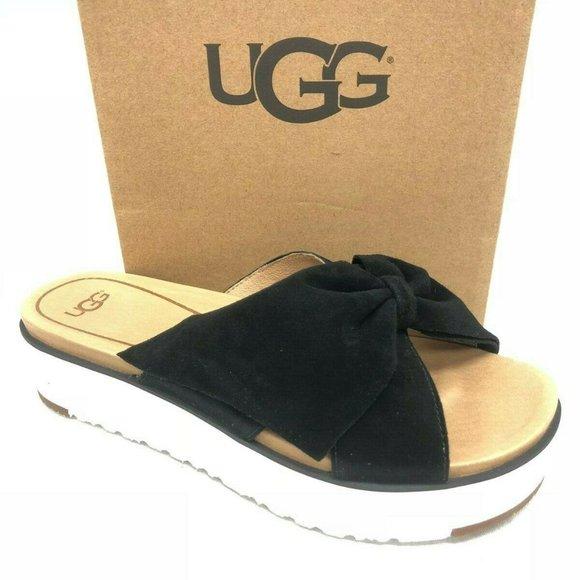 UGG Shoes | Ugg Bow Sandals Black
